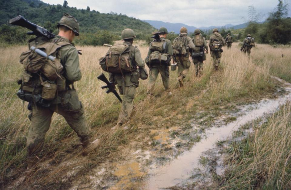 "A scene from the PBS documentary ""The Vietnam War"" by Ken Burns and Lynn Novick."