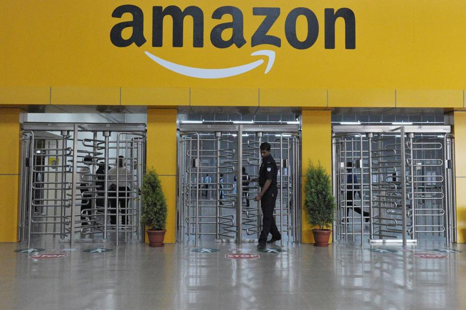 Amazon's largest Fulfillment Center in India, on the outskirts of Hyderabad.