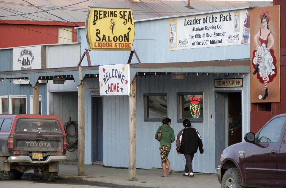 A proposed law in Nome, Alaska, would prohibit intoxication in public places such as the city's main street.