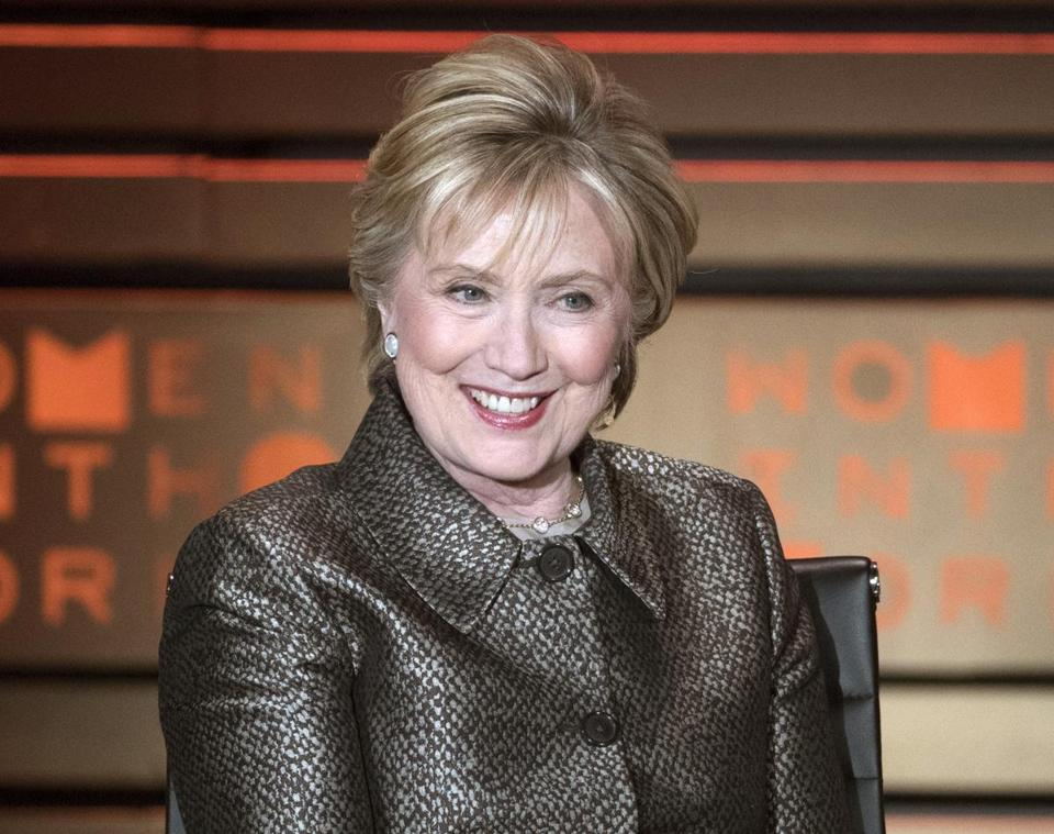 Hillary Clinton says she won't run for president for a third time.