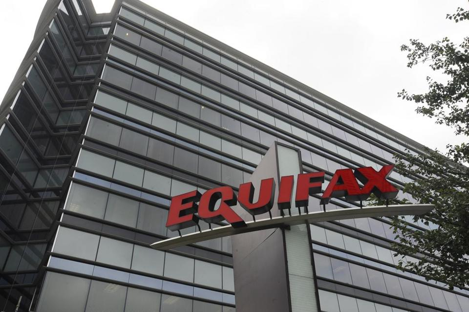 Equifax says a breach exposed social security numbers and other data from about 143 million Americans.