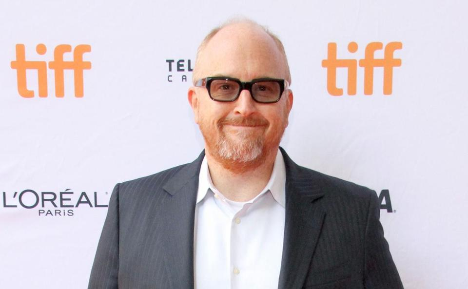 "Louis C.K. attends the ""I Love You, Daddy"" premiere at the Toronto International Film Festival."