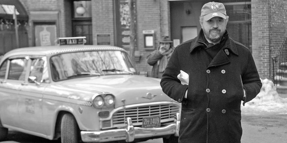 "Louis C.K. in a scene from""I Love You, Daddy,"" which he wrote and directed."