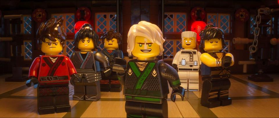 "Lloyd (foreground, and hero of ""The LEGO Ninjago Movie"") is voiced by Dave Franco."