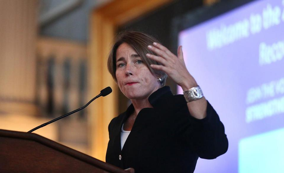 State Attorney General Maura Healey.