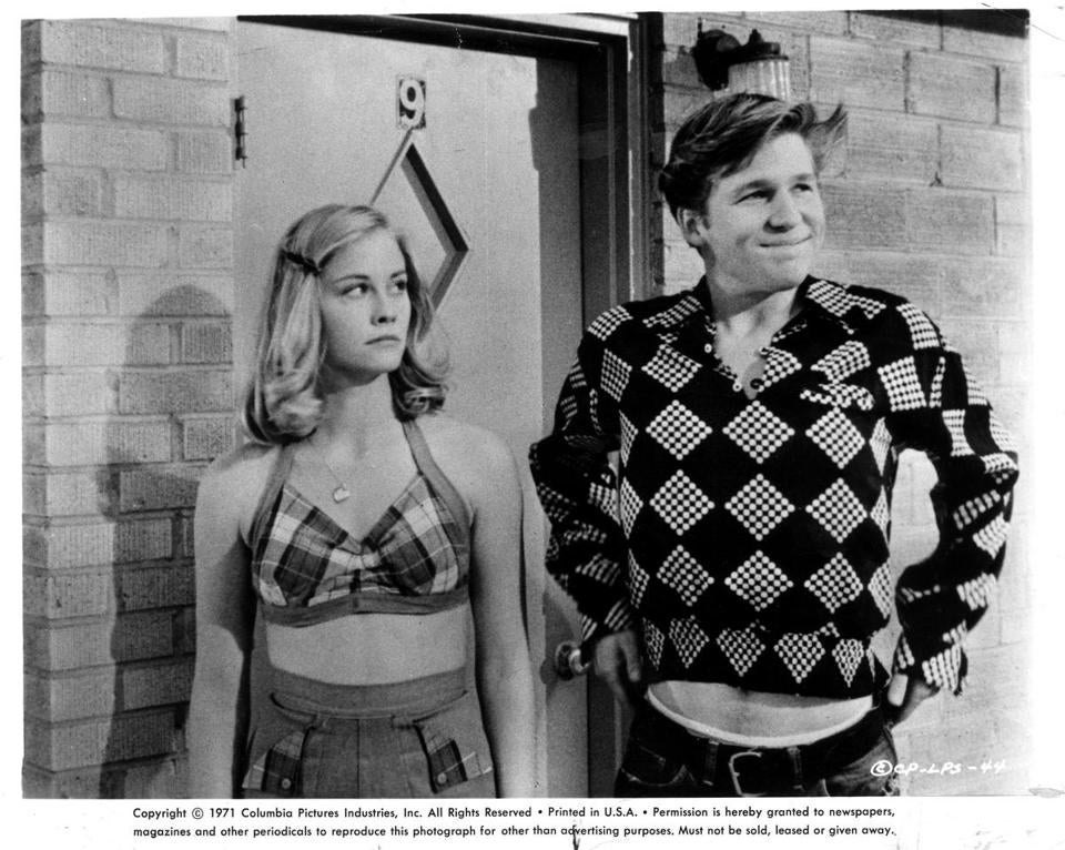 "A scene from ""The Last Picture Show."""
