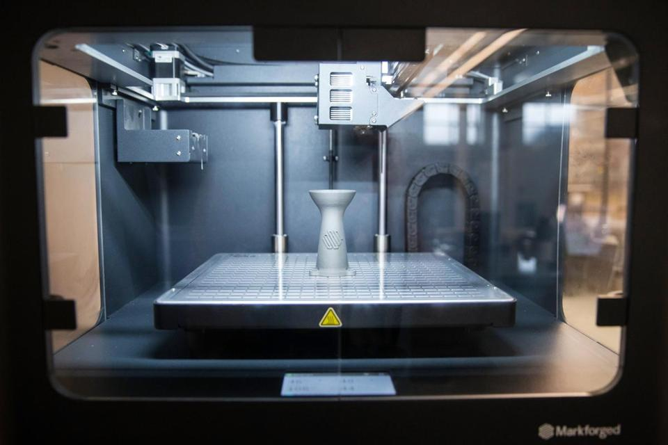 Markforged, a Watertown-based maker of 3-D printers, has raised an additional $82 million in venture funding in a round led by Summit Partners.