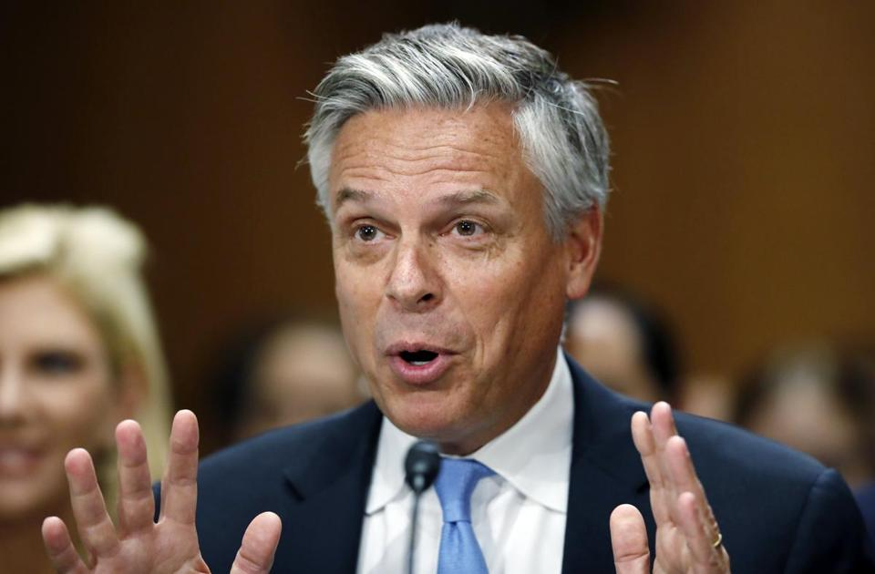 Jon Huntsman breezed through his confirmation hearing last week as Republicans and Democrats praised his qualifications for the job.