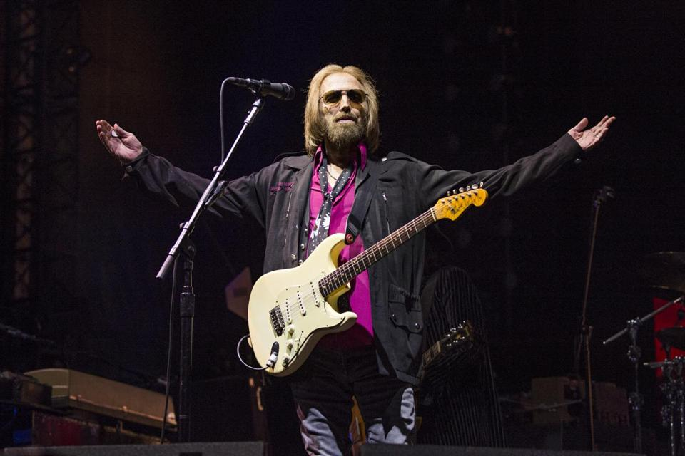 Tom Petty appeared last month with his band at KAABOO 2017 in San Diego.