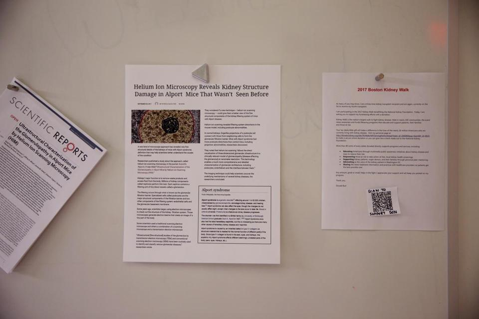 Don Burl and John Notte posted bulletin-board notes that led them to a key revelation.