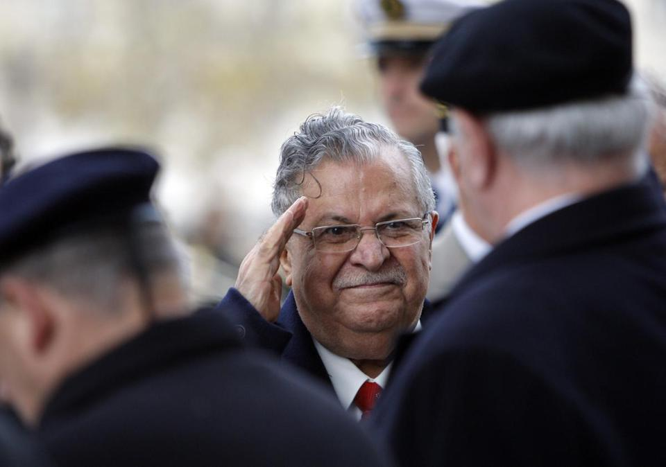 Former Iraqi president Jalal Talabani was often seen as a unifying elder statesman in the country.
