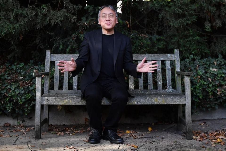 "Author Kazuo Ishiguro said receiving the 2017 Nobel Prize for literature Thursday was a ""magnificent honour."""