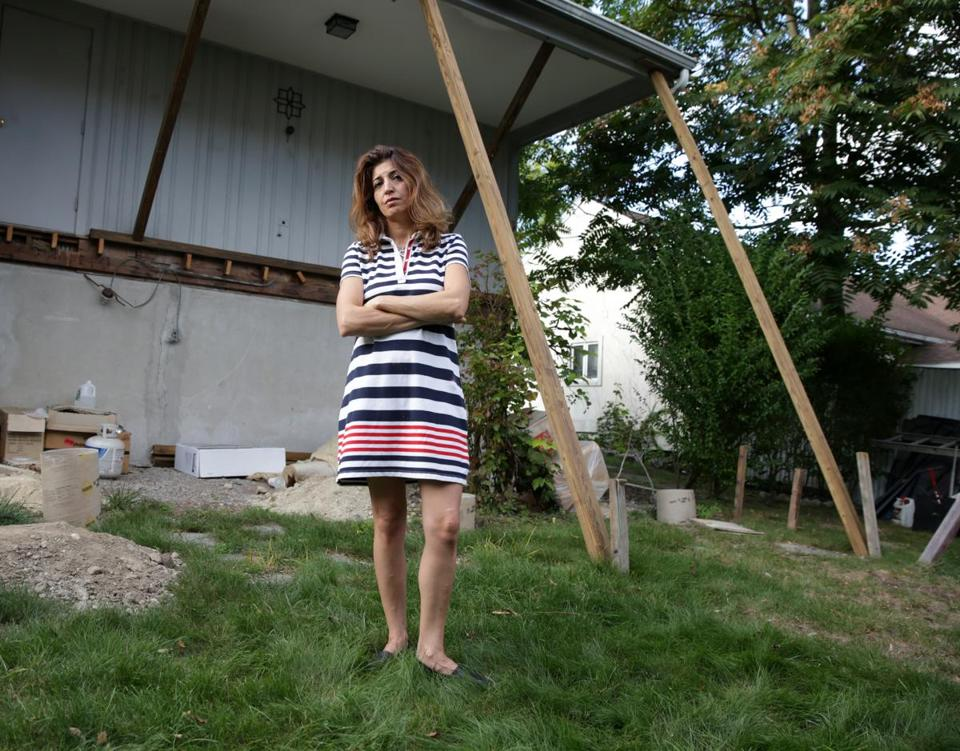 Homeowner Marjan Sadegh found that getting a deck built at her house was a lot more complicated than she expected.