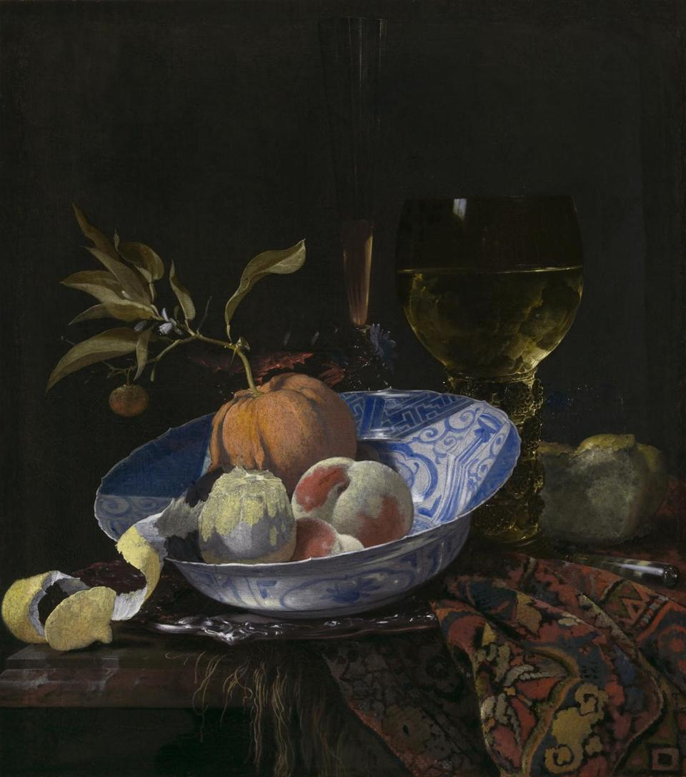 Still Life with a Peeled Lemon Willem Kalf (Dutch, 1619 - 1693) 1664 Oil on canvas * Rose-Marie and Eijk van Otterloo Collection * Courtesy Museum of Fine Arts, Boston 12dutchgift