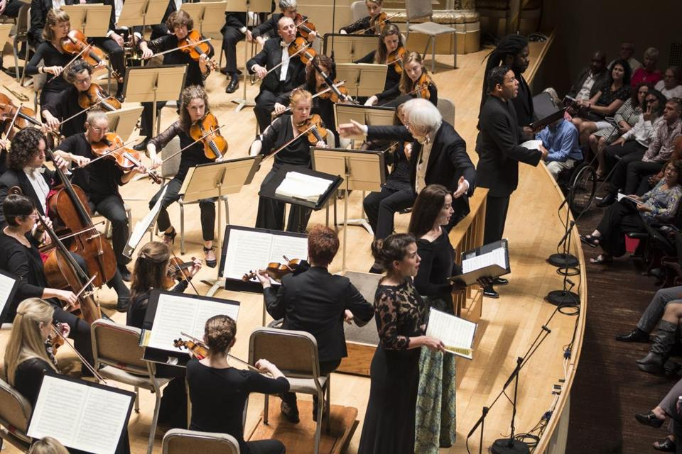 Handel and Haydn Society performs Beethoven's Ninth Symphony conducted by Masaaki Suzuki at the Boston Symphony Orchestra.