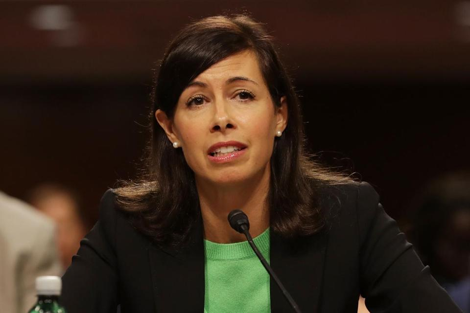 "Federal Communications Commissioner Jessica Rosenworcel tweeted, ""Not how it works,"" regarding President Trump's statement about licenses for television networks like NBC."