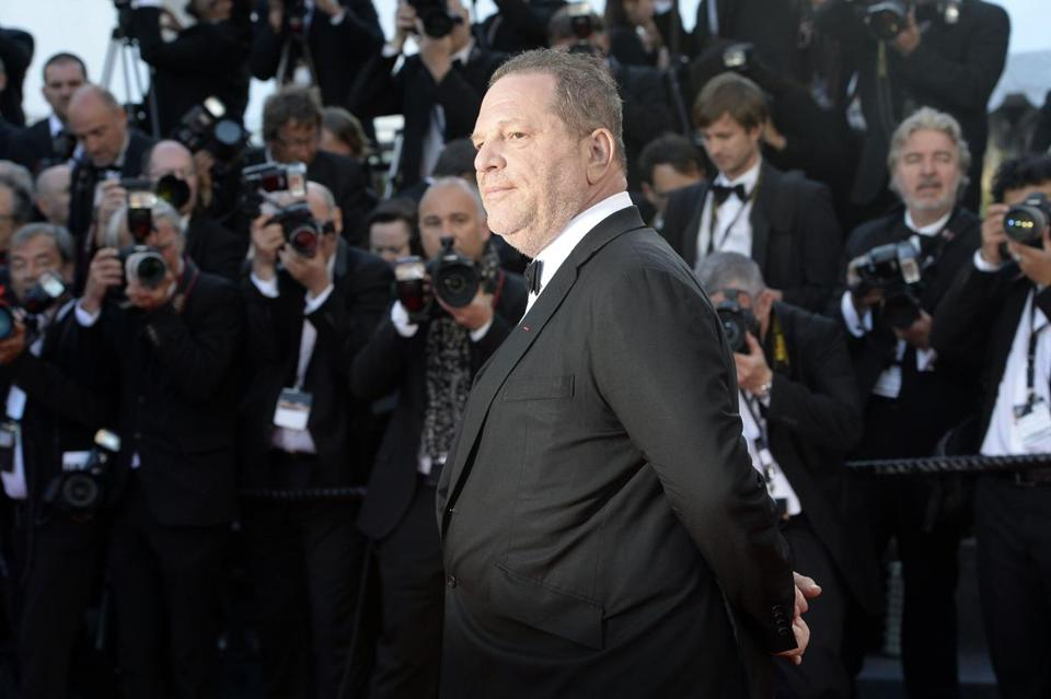 Harvey Weinstein at the Cannes Film Festival on May 24, 2013.