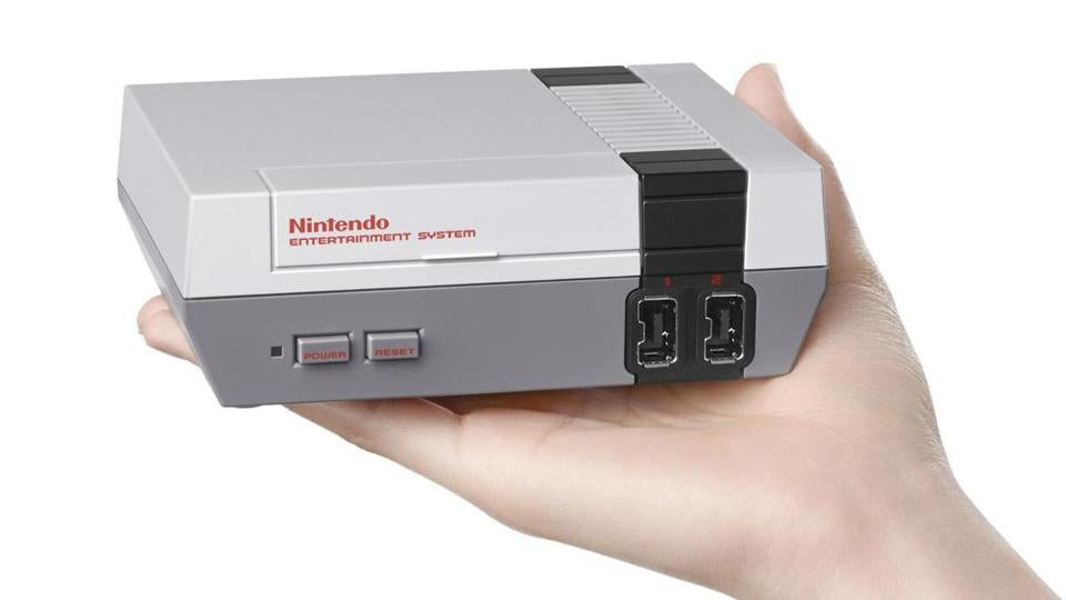 Nintendo has released a mini version of the beloved original NES game console.