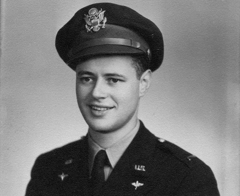 Army Air Forces 2nd Lieutenant Richard M. Horwitz of Brookline.