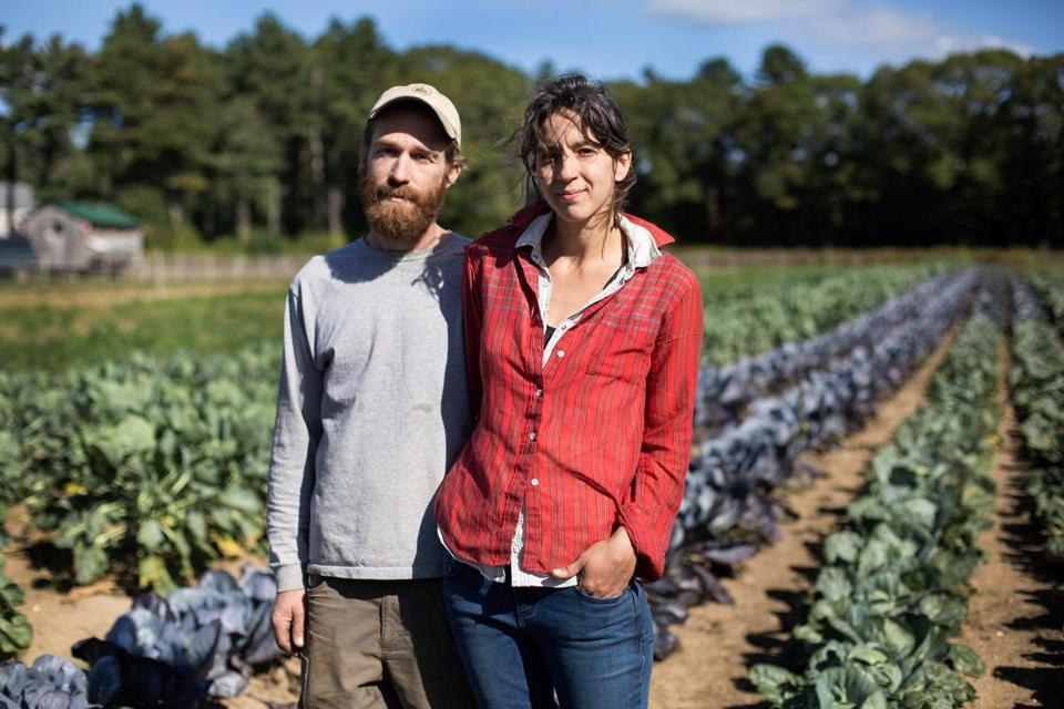 Chuck Currie and Marie Kaziunas, at Freedom Food Farm, had problems with an insurer.