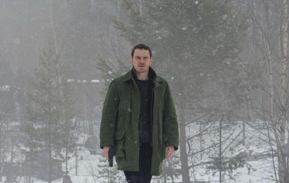 "Michael Fassbender stars as detective Harry Hole in ""The Snowman."""