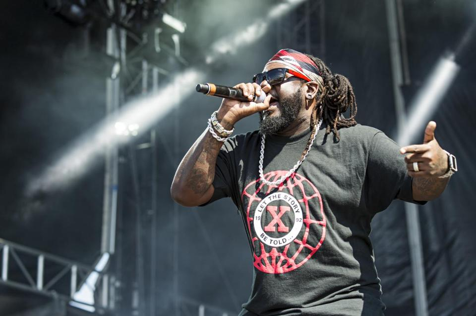 T-Pain, shown performing in San Diego last month, plays The Sinclair on Oct. 25.