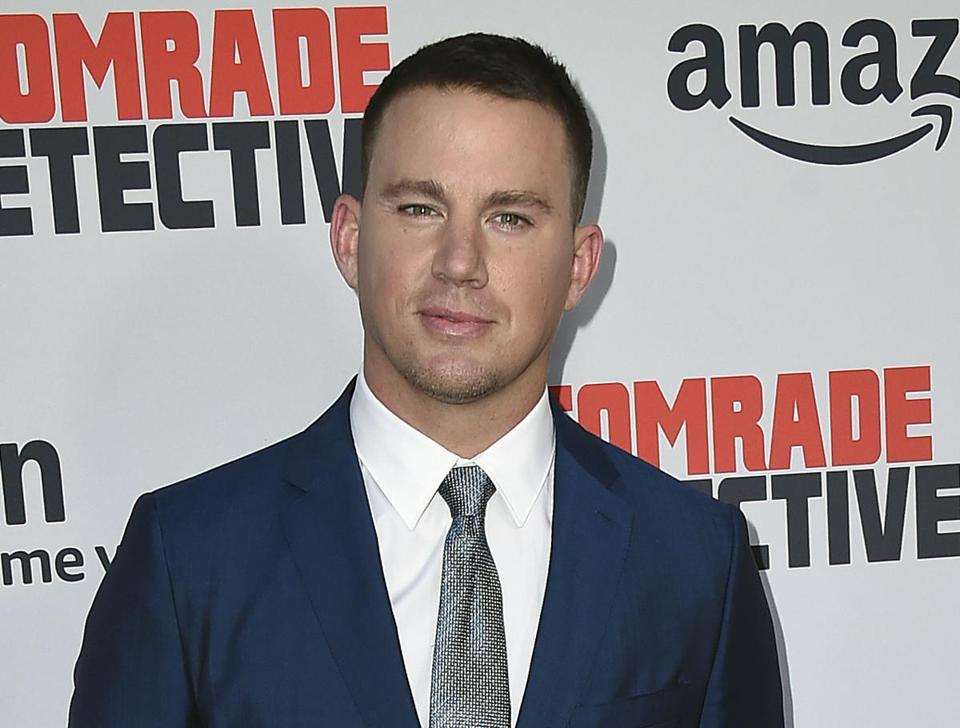 "FILE - In this Aug. 3, 2017 file photo, actor Channing Tatum arrives at the premiere of ""Comrade Detective"" in Los Angeles. Tatum is no longer developing a film with The Weinstein Company about a boy dealing with the aftermath of sexual abuse. The film was to be based on author Matthew Quick's book ""Forgive Me Leonard Peacock."" (Photo by Jordan Strauss/Invision/AP, File)"
