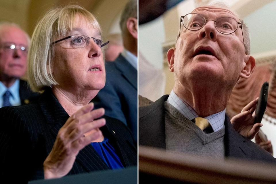 Senators Patty Murray, a Democrat, and Lamar Alexander, a Republican, agreed to outlines for a health care compromise.