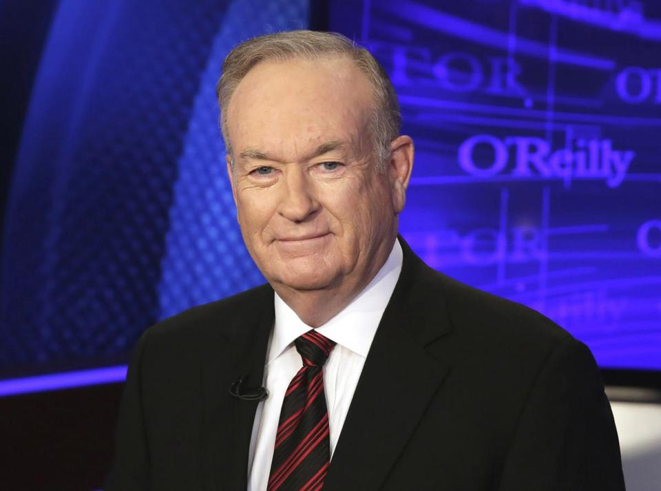 Former Fox News host Bill O'Reilly