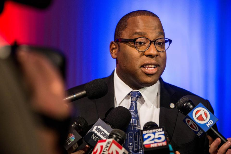 Jackson spoke to the media after Tuesday's debate.