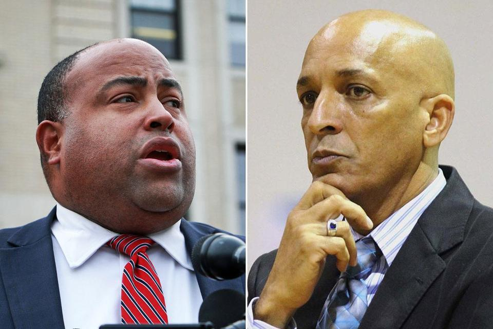 Lawrence Mayor Daniel Rivera (left) is facing a challenge from William Lantigua, whom he beat by just 81 votes in 2013.