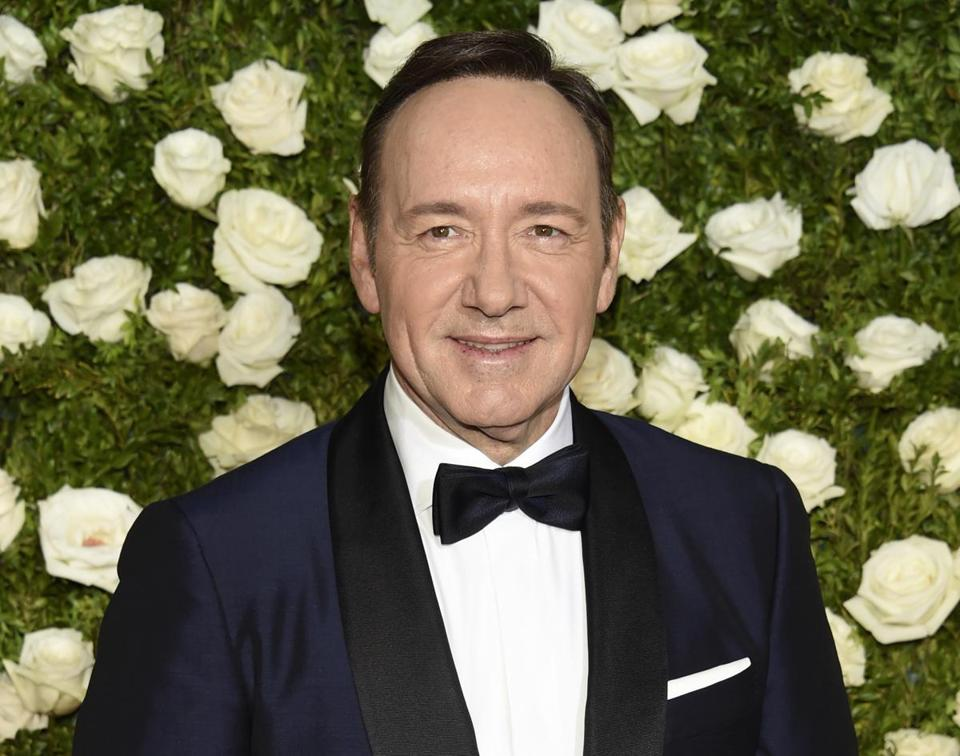 Actor Kevin Spacey arrived for the Tony Awards earlier this year.
