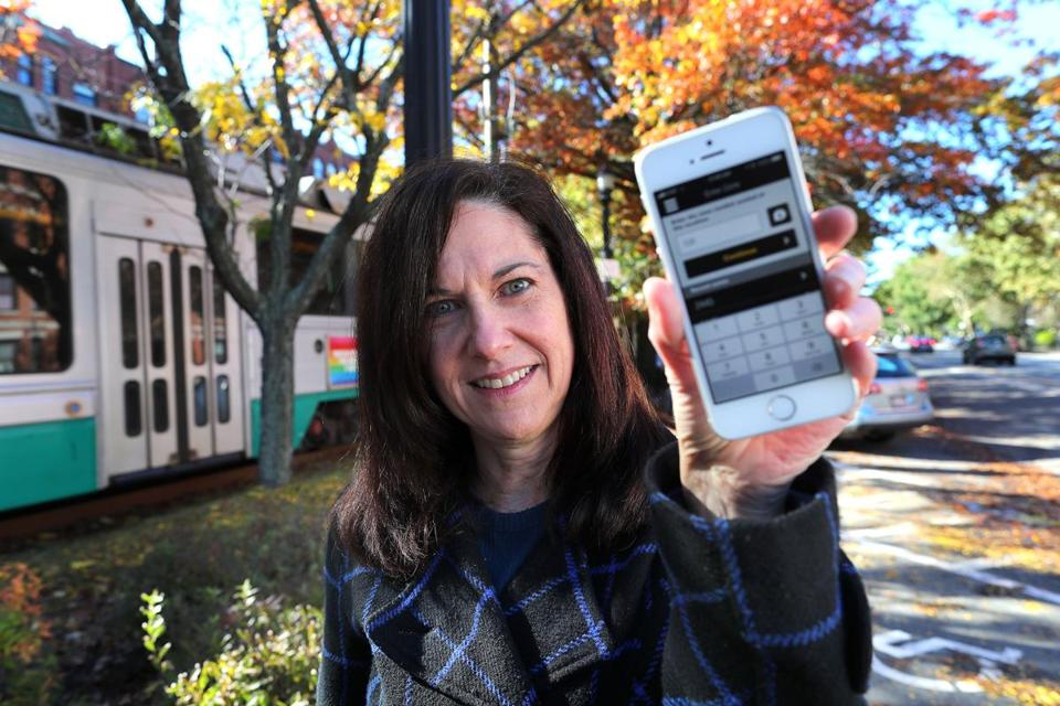 Judy White's phone held the crucial evidence — an electronic receipt that showed she did not park illegally in Brookline.