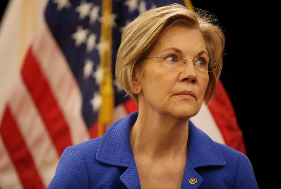 Elizabeth Warren: Trump's 'Racist Slur' Won't Shut Me Up