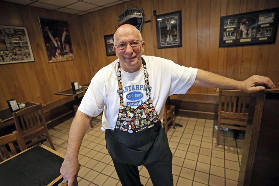 "Anthony ""Tony"" Costanzo is retiring from Santarpio's after serving 32 years as a waiter."