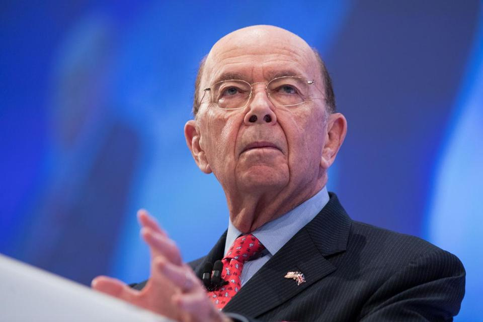 Forbes magazine said it discovered a discrepancy after examining Commerce Secretary Wilbur Ross's government financial disclosure forms.
