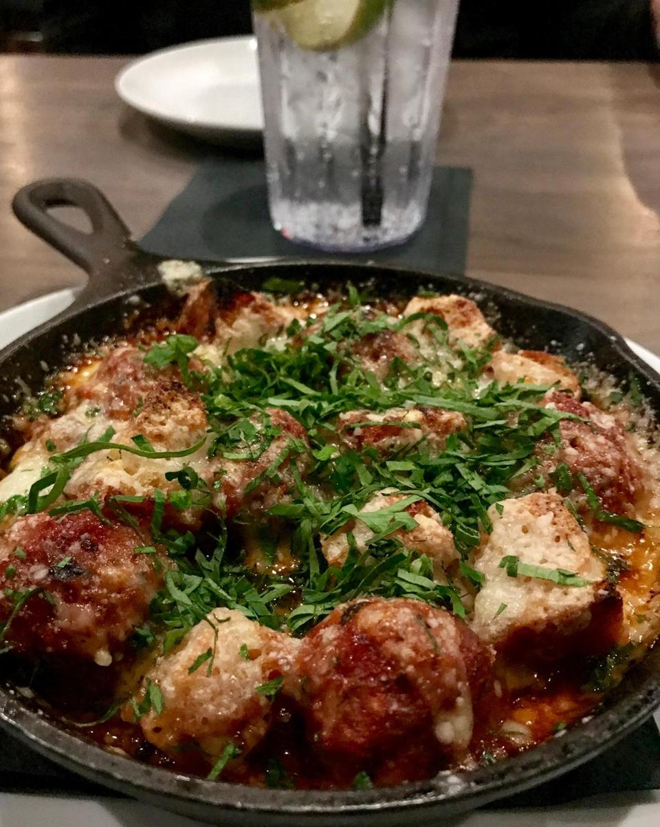 xsodine - True North's meatball appetizer (Joan Wilder)