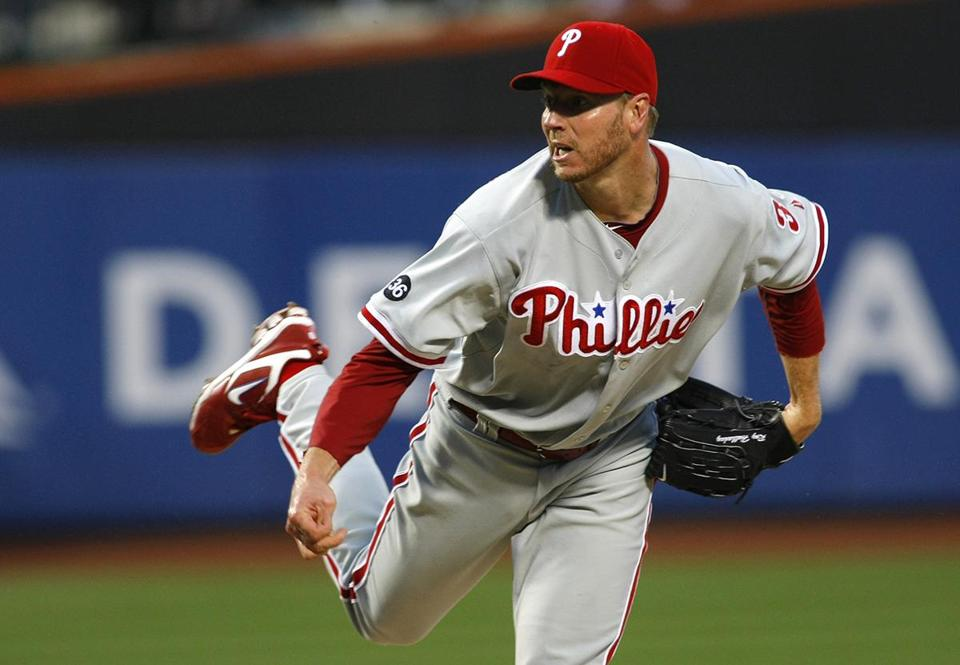 Roy Halladay went 203-105 in a 16-year major league career.