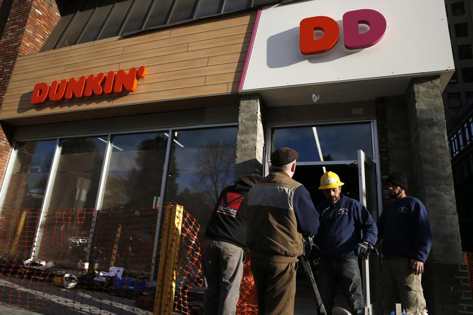 Just Dunkin': Dunkin' Donuts to change its name