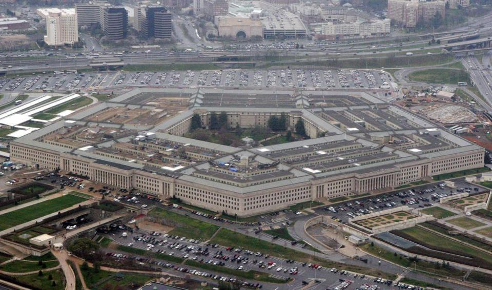 Pentagon mistakenly retweets call for President Trump to resign
