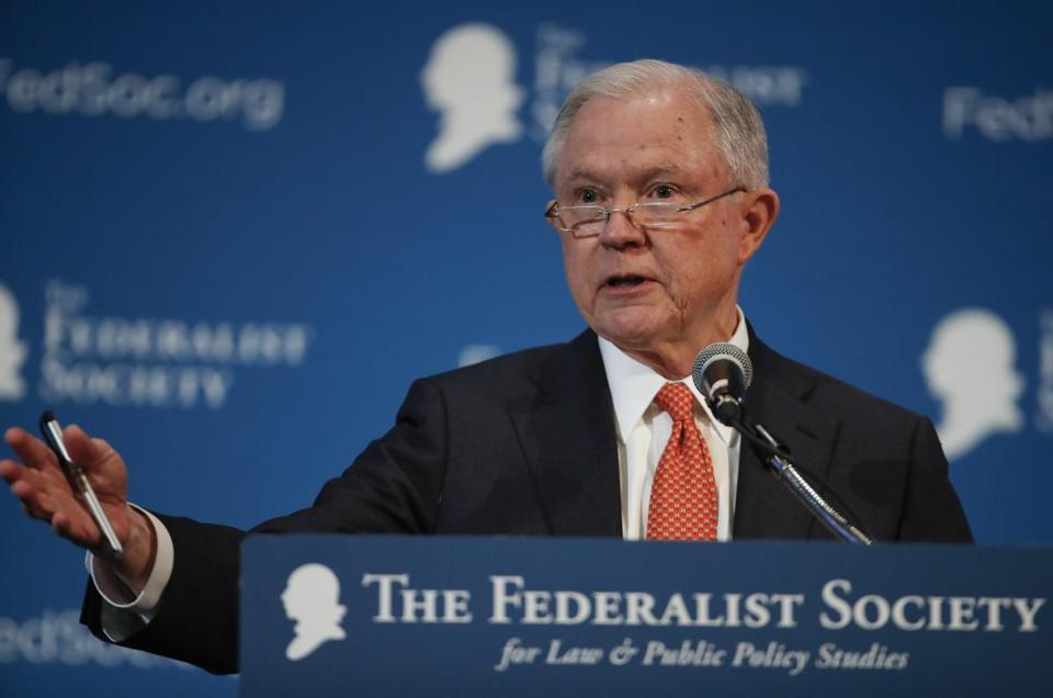 Sessions Asks Convention Crowd: 'Any Russians? Anybody Been to Russia?'