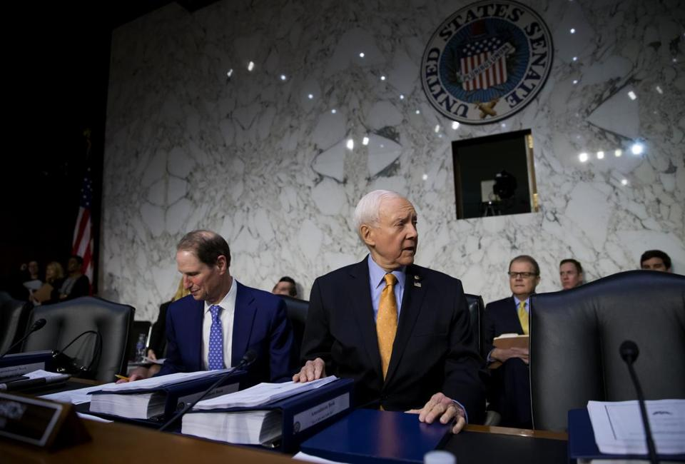 A Testy Orrin Hatch Defends Republican Tax Plan During Senate Hearing