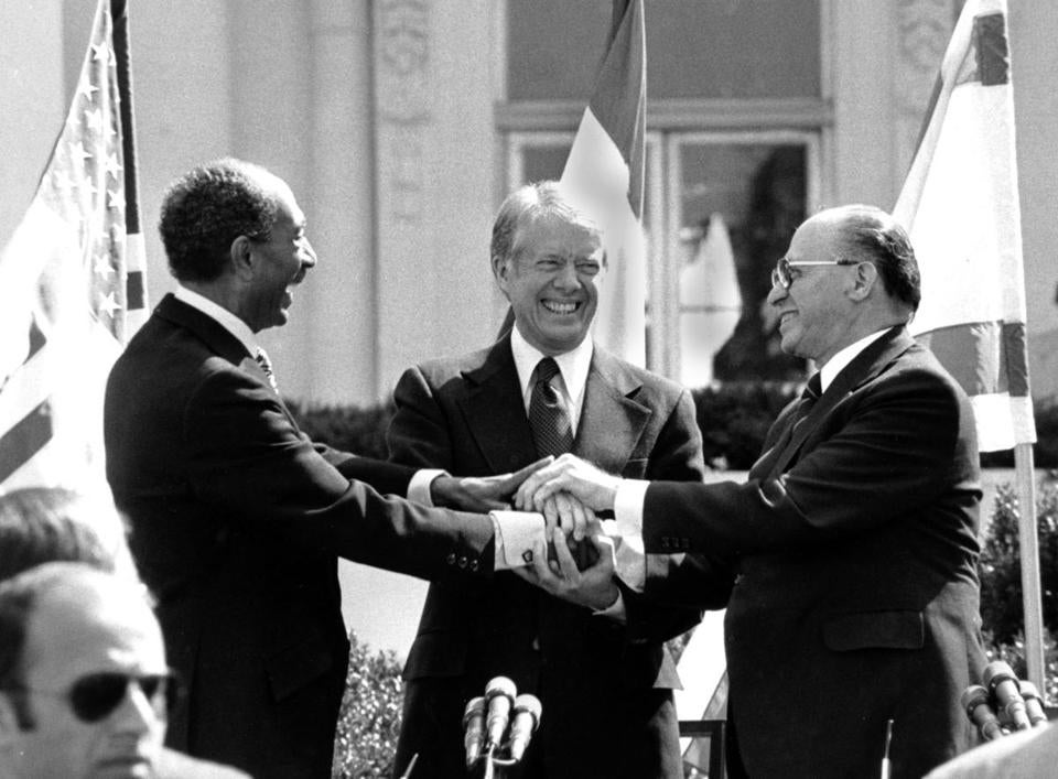 Evoking Sadat's legacy, Egyptian envoy in Israel urges new push for peace