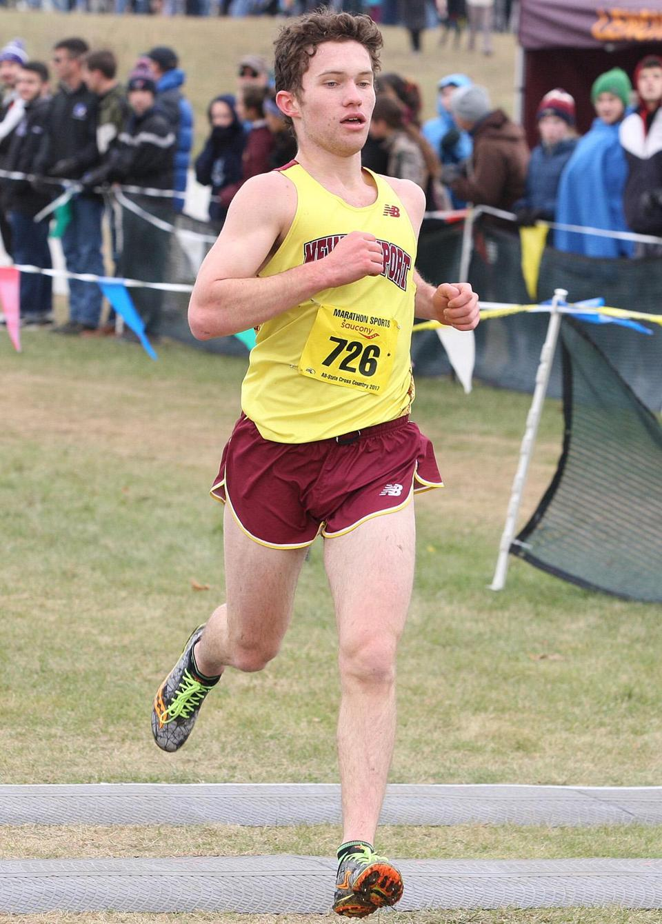 Sam Acquaviva of Newburyport won the Division 2 race.