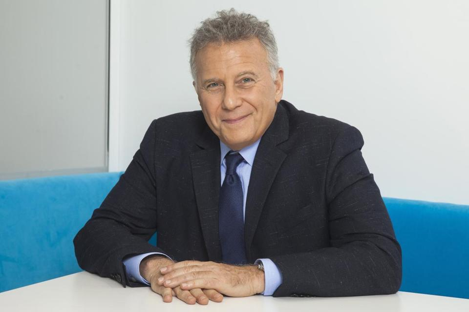 "Paul Reiser is co-creator and -writer of ""There's . . . Johnny!"""