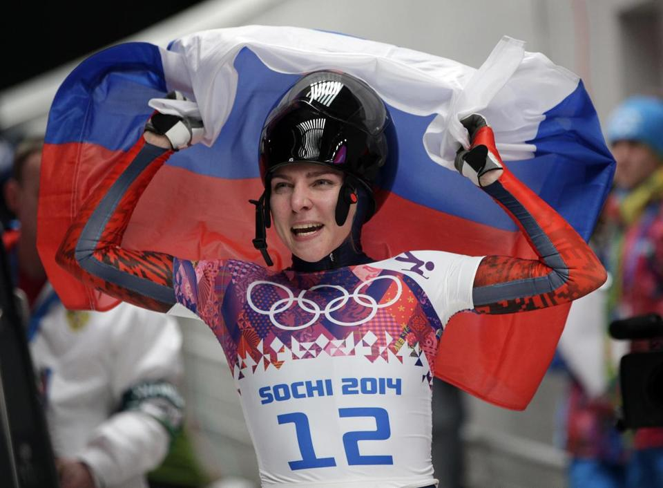 The IOC stripped Russian skeleton racers of Olympic medals Sochi