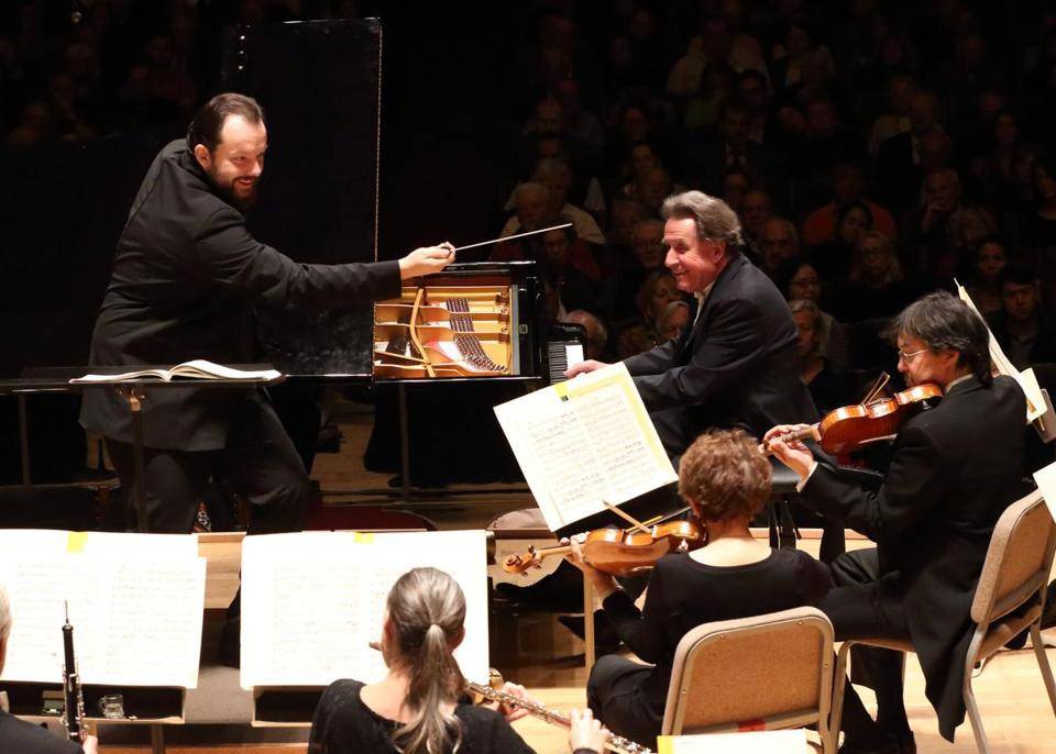 Andris Nelsons leads the BSO in Beethoven's Piano Concerto No. 1, with soloist Rudolf Buchbinder.
