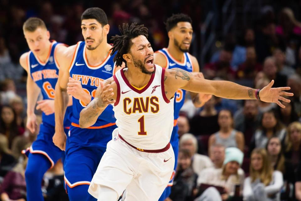 Cavs guard Derrick Rose, injured again, unsure of National Basketball Association future