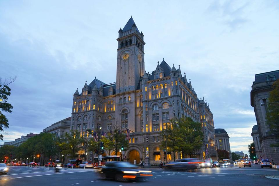 The Government Accountability Office and the Office of Inspector General are looking into Trump's lease of the federal building housing the Trump International Hotel.
