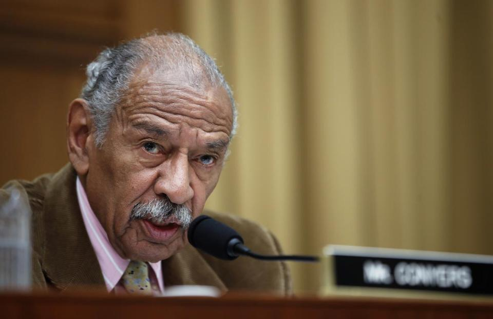 Nancy Pelosi calls John Conyers an 'icon,' and social media is livid